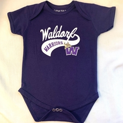 Waldorf Warriors Onesie