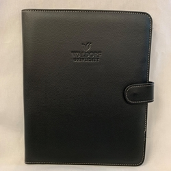 University Black Magnetic Portfolio